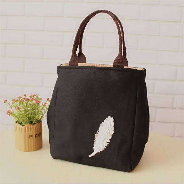 弁当袋 保温袋 ハンドバッグ 大容量 円形 弁当箱バッグ