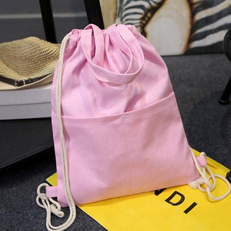 オリジナル巾着袋大サイズ きんちゃく袋 軽量 旅行用収納バッグ 折りたたみ